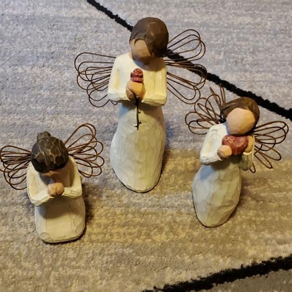 Bundle of Willow tree Angel Figurines